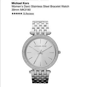 Woman's authentic Michael Kors watch